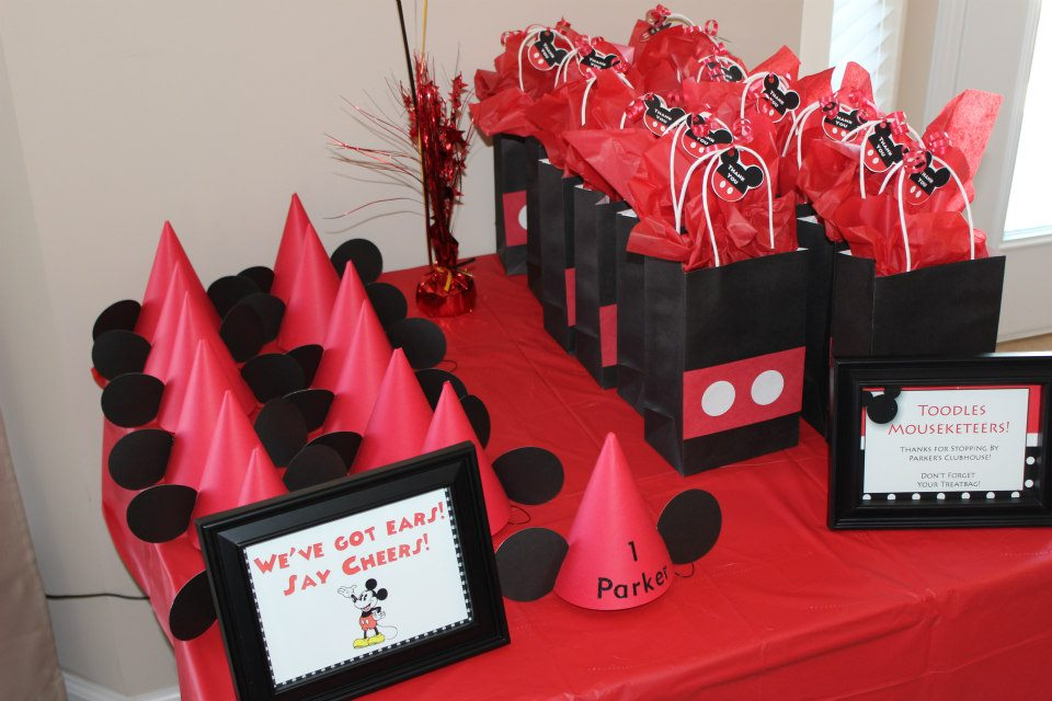 Mickey Mouse 1st Birthday Party Amandas Party Planning